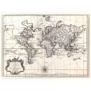 Edición exclusiva de alfombras Mundial Mapa Erdkug