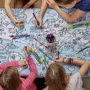EatSleepDoodle Mundial Mapa Mantel - con el fin de