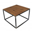 wholesale Small Furniture: Spinder Design John Side table 60x60x40 - Blacksm