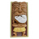Hero Rotary Tiki Tissue Box Cover - Crème