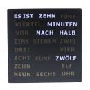 wholesale Clocks & Alarm Clocks: LED Word Clock - German 28 x 28 cm