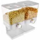 Großhandel Haushalt & Küche: Luxus Doppel Flakes Dispenser - Weiß