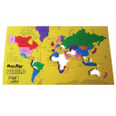 wholesale Toys: Foam Puzzle - Largest countries of the World (NL)