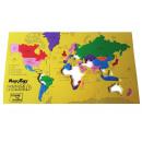 Großhandel Puzzle: Foam Puzzle - Die größten Länder der Welt (NL)
