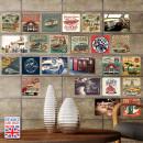 grossiste Stickers mureaux: Walplus Décoration  murale Sticker - HD Vintage véh