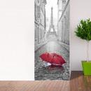 Walplus Door Decoration Sticker - Eiffel Torel Par