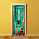 Walplus Porta della decorazione - Vintage legno