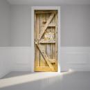 wholesale Home & Living: Walplus Door  Decoration Sticker - Wooden Door