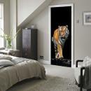 Walplus Door Decoration Sticker - Tiger