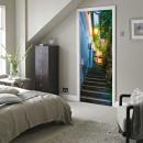 Walplus Door Decoration Sticker - Staircase