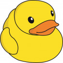 Giggle Beaver Duck  - Badetuch - 150x150 cm