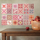 Walplus Moroccan Mosaic - Wall sticker / Tegelstic