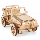 wholesale Toys: EcoBot Buggy - Model kits - Houten Constructi