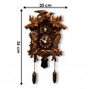 Walplus Cuckoo - Wall clock - with Garland - Vinta