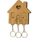 Großhandel DVDs, Blue-rays & CDs: Schlüsselanhänger mit Schlüsselsatz - Familie mit