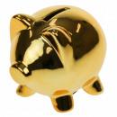 Großhandel Spardosen: Sparschwein Sparschwein - Gold