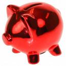 Großhandel Spardosen: Sparschwein Sparschwein - Rot