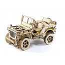 wholesale Toys: Wooden City 4x4 Jeep - Wooden Model Building