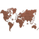wholesale Toys: Wooden City World Map XL - Wooden Model Building -