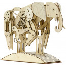 Mr. PlayWood Elephant - Wooden Model Building