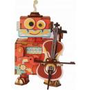 Großhandel Spielzeug: Robotime DIY Music Box - Kleiner Darsteller