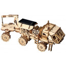 Robotime Hermes Rover with solar cell LS504 - Wood