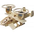 grossiste Jouets en bois: Robotime Samson P350 avec cellule solaire - Modèle