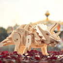wholesale RC Toys: Robotime Triceratops D400 - Wooden modeling - ...