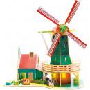 grossiste Puzzle: Robotime Dutch Windmill SJ305 - Mode en bois