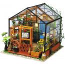 Robotime Cathy's Bloemenhuis DG104 DIY - Woode