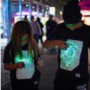 groothandel Kinder- en babykleding: IA Interactief Glow T-shirt voor Kinderen, Super G