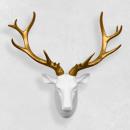 wholesale Decoration: Walplus Red Deer head, Wall decoration, White ...