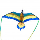 XKites 3D Blue Macaw, Kite, Liner, Kids