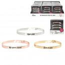 groothandel Sieraden & horloges: bangle armband bericht x3 vriend