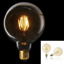 bulb g125 e27 led amber right, 1- times assorted