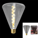 pyramid bulb d145 * 190mm e27 gray 4w