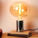 groothandel Verlichting: bubbel lamp 220x225mm e27 amber 6w