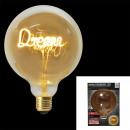 ampoule g125 e27 dream ambre 4w