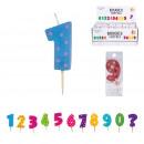 numery urodzin świeca pm, 11-krotnie mieszany