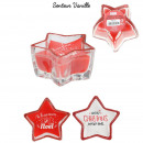 candle star a magical Christmas, 2- times assorted