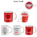 candle mug a magical christmas, 3- times assorted