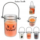 candle lantern halloween 10cm, 3- times assorted