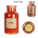 groothandel Kaarsen & standaards: apothekerskaars xl amber d14.5xh25.5cm, 1 ...