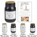 bougie parfumee top liege meche bois lab h14cm, 4-