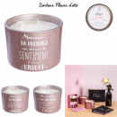 candle 3 meches mom, 2- times assorted