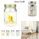 candle mason jar unicorn, 4- times assorted