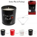 bougie parfumee amour bijou surprise h8cm, 4-fois