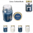 candle mason jar shine like a star, 4- times assor