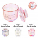 bougie parfumee top verre beauty candle h10cm, 3-f