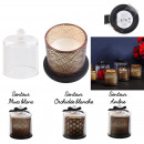 black bell candle spa chic 10.4x8.4m, 3-fold asso